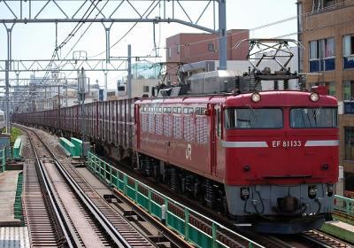 96レ EF81 133+コキ