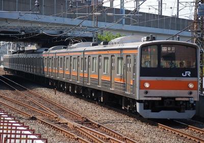 15F 205系M9編成 快速東京行