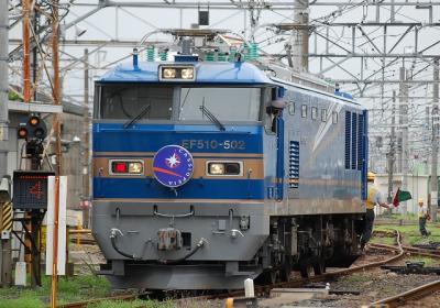 EF510-502入換え