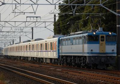 8862レ EF65 1127+東武51096F