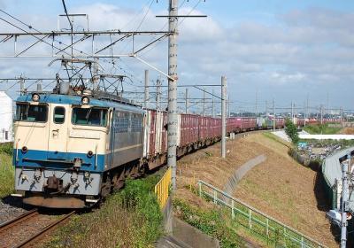 2078レ EF65 1054+コキ