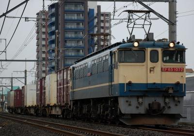 ****レ EF65 1072+コキ