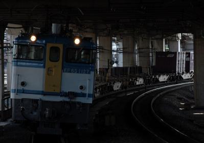 2071レ EF65 1127+コキ