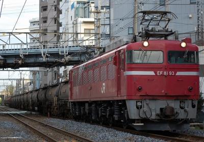 5388レ EF81 93+タキ+トキ