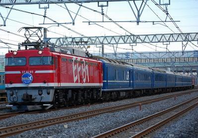 回9571レ EF81 95+24系青森車7B+EF65 1118
