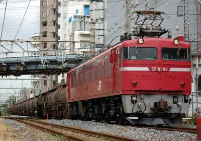 5388レ EF81 88+タキ12+トキ6