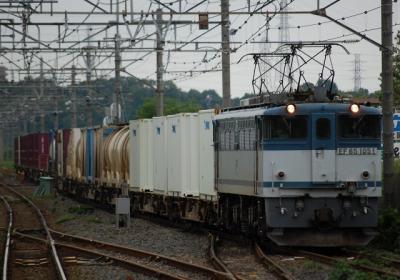 76レ EF65 1051+コキ