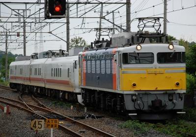 回9847レ EF81 92+キヤE193系 East i-D