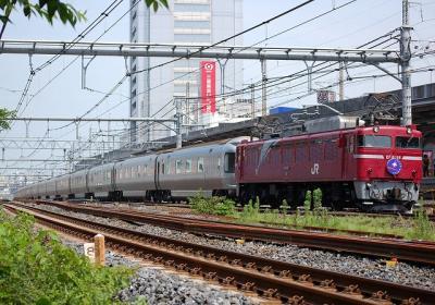 8010レ EF81 98+E26系 寝台特急カシオペア上野行