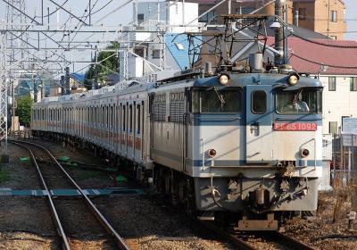 9275レ EF65 1092+東急5050系