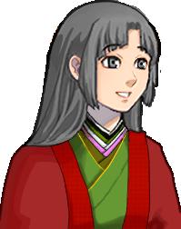 和風の姫君(立ち絵)