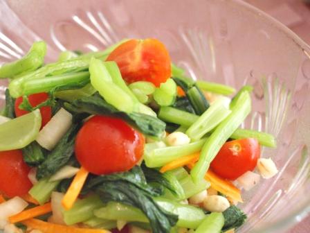 菜の花サラダ