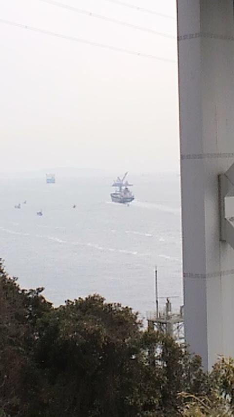 壇ノ浦からの関門海峡