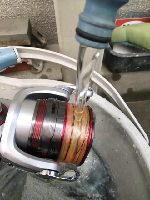 リール洗い2