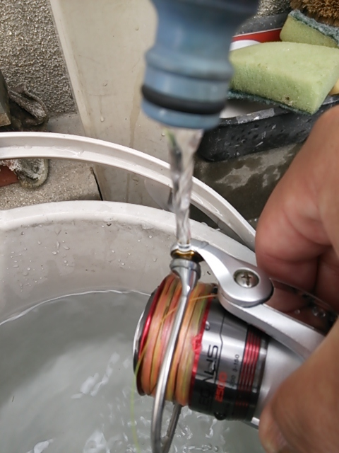 リール洗い3