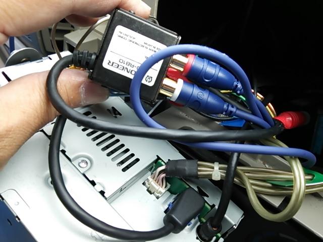 オーディオ入力配線