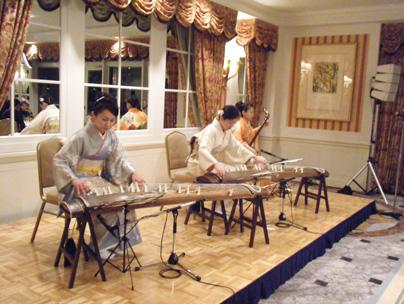 チーム牡丹・お琴と三味線の出張演奏