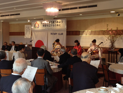 上野精養軒・琴と三味線の出張演奏