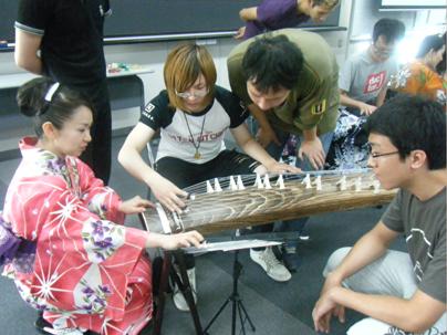 チーム牡丹・日本文化体験授業