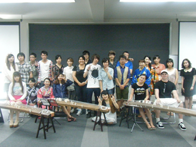 チーム牡丹・留学生のための日本文化体験授業