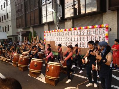 八王子祭り 津軽三味線と太鼓