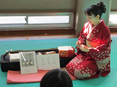 桜美林大学「留学生のための日本文化体験」
