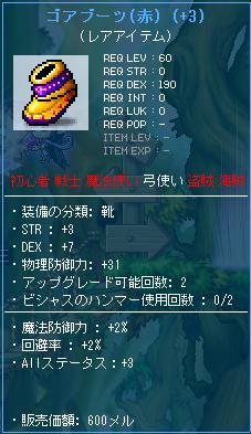 ゴアブーツ 強化品 4