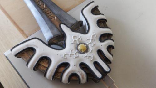 A様 ドラゴンクエスト ロトの剣 攻略本の表紙ver  ラーミアの装飾