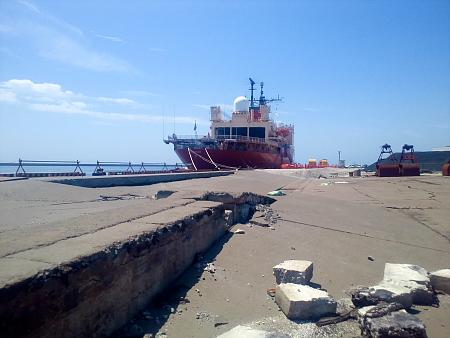 小名浜港としらせ