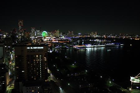 マリンタワーからの夜景