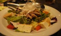 豆腐とバンバンジーのサラダ