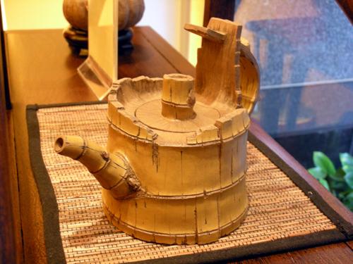 林松本 茶壺