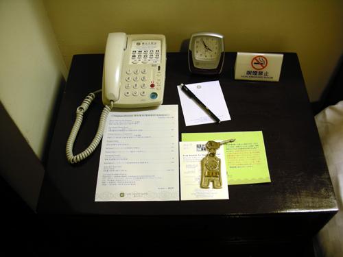 圓山大飯店(台北グランドホテル) インサイドルーム