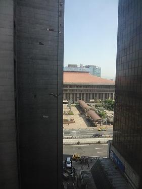 台北YMCAからの眺め