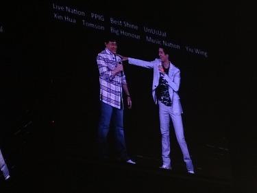 王力宏とジャッキー・チェン(成龍)