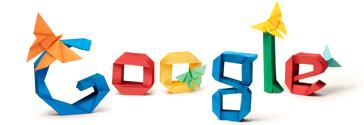 Googleロゴ吉澤章生誕101周年