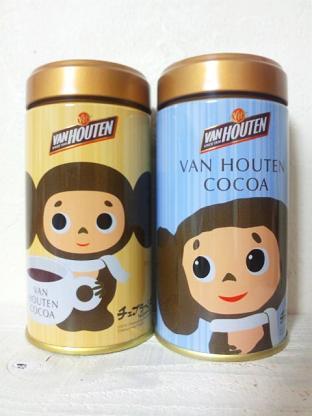 バンホーテンチェブラーシカ缶