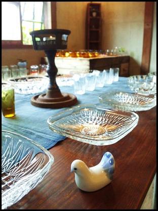 暮らしのガラス食器展3
