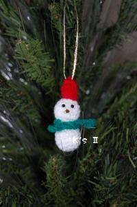 20101118 雪だるま