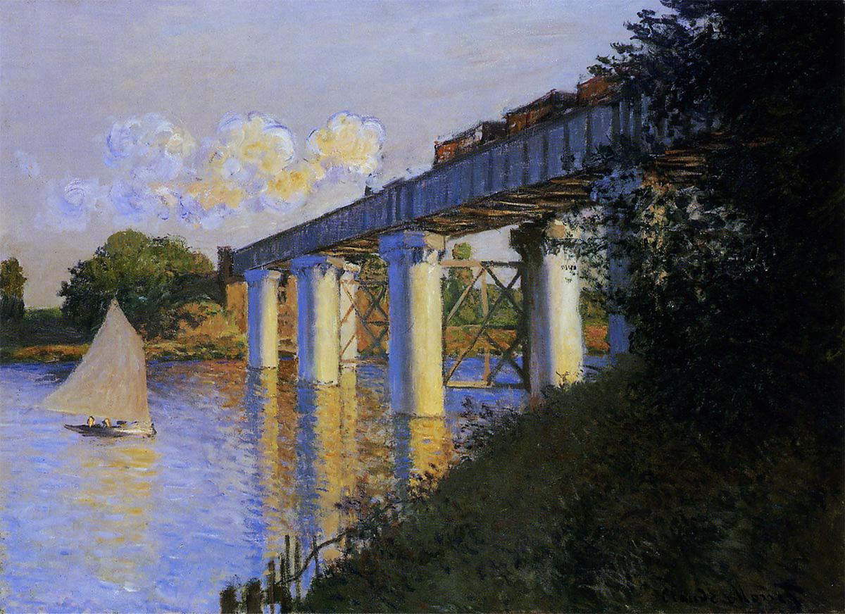 アルジャントゥイユの鉄道橋