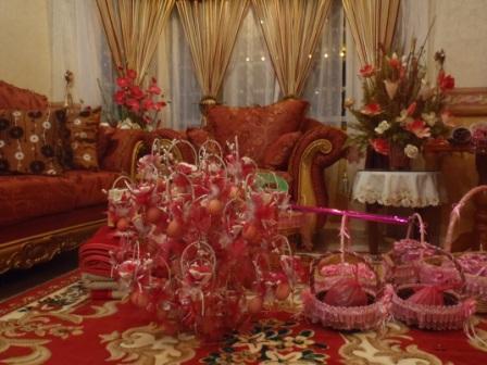結婚式のBunga Telur
