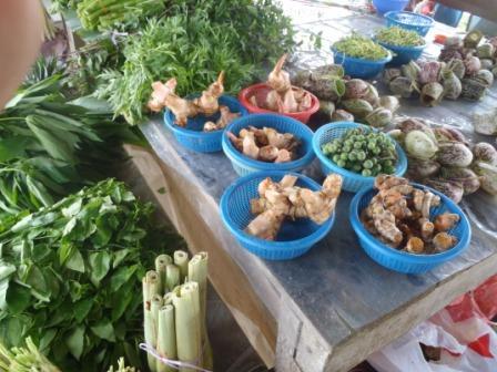 Pasar Serikin 野菜たち