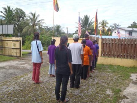 旗の掲揚、国家