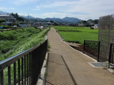 恩曽川の「健康交流の道」