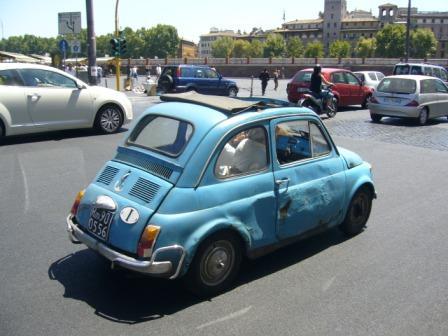 ローマのFIAT500