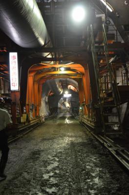 小渋ダム・バイパストンネル3