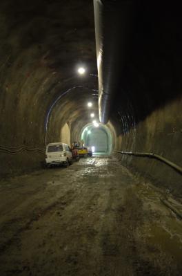 小渋ダム・バイパストンネル2