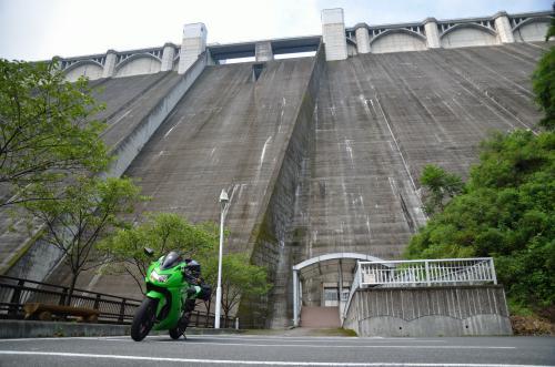 浦山ダム・定番写真(笑)