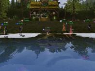 夏の金魚釣り大会1