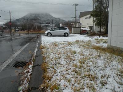 ついに本格的降雪
